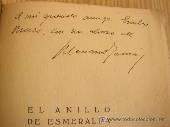 Libros antiguos: EL ANILLO DE ESMERALDA- MARIANO TOMAS-NOVELA- SIN FECHA-COMPAÑIA IBERO-AMERICANA DE PUBLICACIONES. - Foto 3 - 25847893