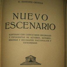 Libros antiguos: NUEVO ESCENARIO (1928). Lote 19814762