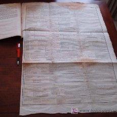 Libros antiguos: ZX AÑO 1829 * HISTORIA GENERAL DE LA ESPAÑA * DESPLEGABLE DE 76 X 55 CM * MAPA HISTORICO * CURIOSO. Lote 25561910