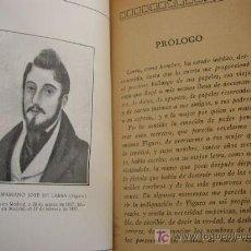 Libros antiguos: EL POBRECITO HABLADOR-MARIANO J. DE LARRA-MAD.- EDT: IBERO-AFRICANO-AMERICANA-SIN FECHA.. Lote 26626265