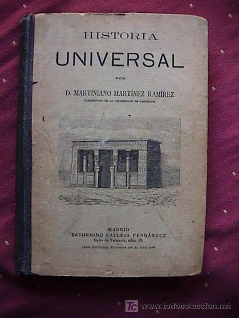 COMPENDIO DE HISTORIA UNIVERSAL. (Libros Antiguos, Raros y Curiosos - Historia - Otros)