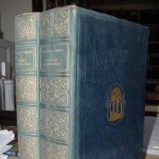 Libros antiguos: AGUILAR. RICARDO LEON. OBRAS COMPLETAS. IMPRESIONANTE OBRA.. Lote 26480553