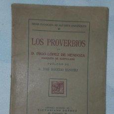 Libros antiguos: LOS PROVERBIOS (SEGÚN EL CÓDICE N. J. 13 DE EL ESCORIAL).. Lote 20875342