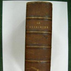 Libros antiguos: ANTIGUO LIBRO DE COCINA EN FRANCES, LE CUISINIER EUROPEEN, FINAL SIGLO XIX. Lote 99171582