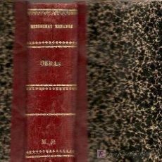 Libros antiguos: LIBROS ANTIGUOS PANORAMA MATRITENSE 1832 A 1835 Y ESCENAS MATRITENSES II . AUTOR: MESONEROS ROMANOS-. Lote 6427595