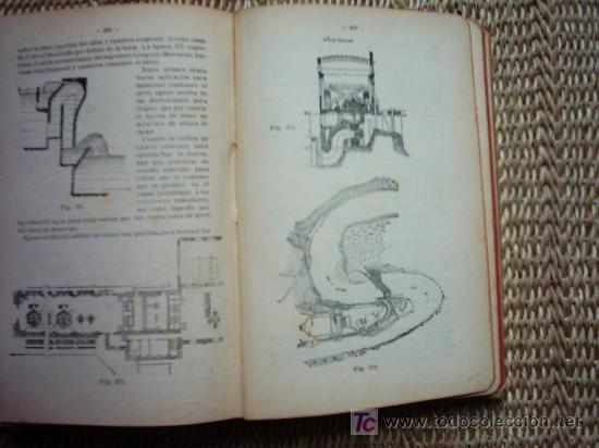 Libros antiguos: MANUAL DE HIDRAULICA APLICADA POR LOS INGENIEROS ZENI Y PERDONI. 2a. EDICION 1914. 406 FIGURAS. - Foto 2 - 27037092