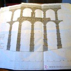 Libros antiguos: EL ACUEDUCTO Y OTRAS ANTIGUEDADES DE SEGOVIA,-GOMEZ DE SOMORROSTRO ( SOLO MADRID ) . Lote 32576432