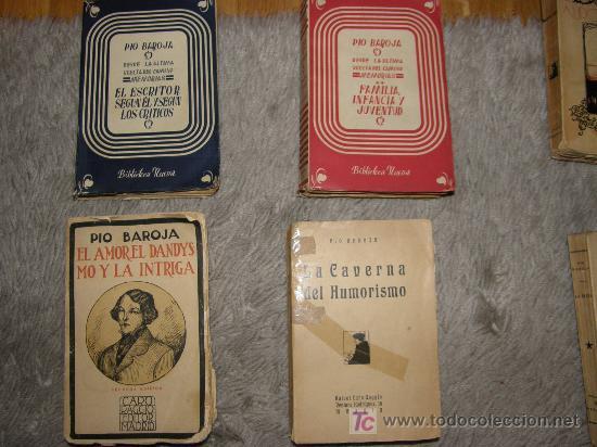 PIO BAROJA CUATRO TOMOS (Libros Antiguos, Raros y Curiosos - Literatura - Otros)
