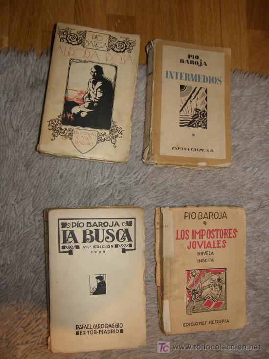 PIO BAROJA TRES OBRAS (Libros Antiguos, Raros y Curiosos - Literatura - Otros)