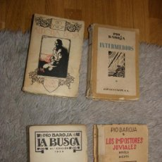 Libros antiguos: PIO BAROJA TRES OBRAS . Lote 27392652