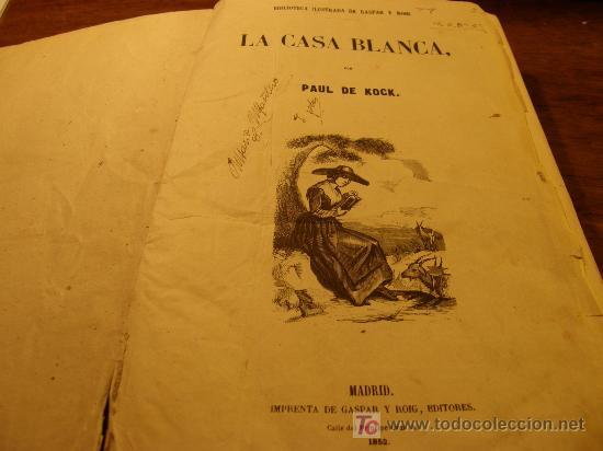 BIBLIOTECA ILUSTRADA GASPAR Y ROIG (Libros Antiguos, Raros y Curiosos - Literatura - Otros)