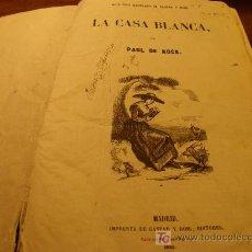 Libros antiguos: BIBLIOTECA ILUSTRADA GASPAR Y ROIG. Lote 27320750