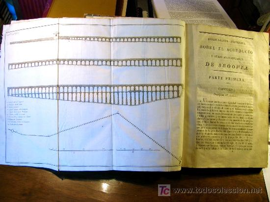 Libros antiguos: EL ACUEDUCTO Y OTRAS ANTIGUEDADES DE SEGOVIA,-GOMEZ DE SOMORROSTRO ( SOLO MADRID ) - Foto 9 - 32576432