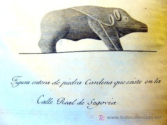 Libros antiguos: EL ACUEDUCTO Y OTRAS ANTIGUEDADES DE SEGOVIA,-GOMEZ DE SOMORROSTRO ( SOLO MADRID ) - Foto 3 - 32576432