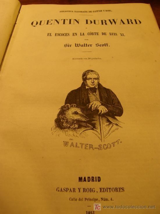Libros antiguos: BIBLIOTECA ILUSTRADA GASPAR Y ROIG - Foto 5 - 27320750