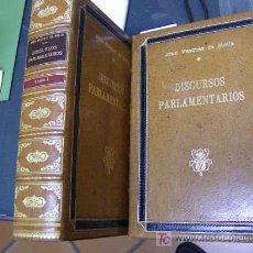 Libros antiguos: .VAZQUEZ DE MELLA, JUAN # DISCURSOS PARLAMENTARIOS - CATOLICISMO Y ATEOCRACIA DOS TOMOS1927. Lote 25428072