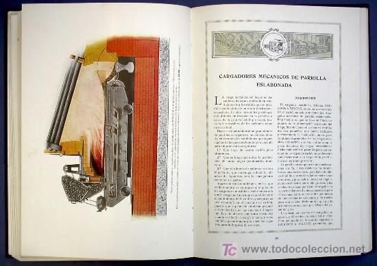Libros antiguos: SOCIEDAD ESPAÑOLA DE CONSTR. BABCOCK & WILCOX. CATALOGO GENERAL. GALINDO, BILBAO, MADRID, POST 1920. - Foto 8 - 25648052