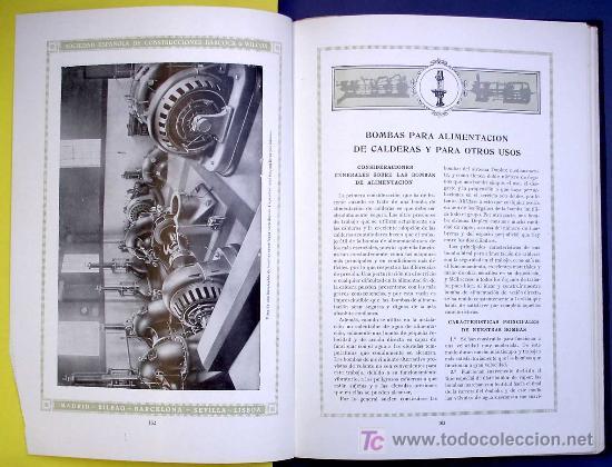 Libros antiguos: SOCIEDAD ESPAÑOLA DE CONSTR. BABCOCK & WILCOX. CATALOGO GENERAL. GALINDO, BILBAO, MADRID, POST 1920. - Foto 9 - 25648052