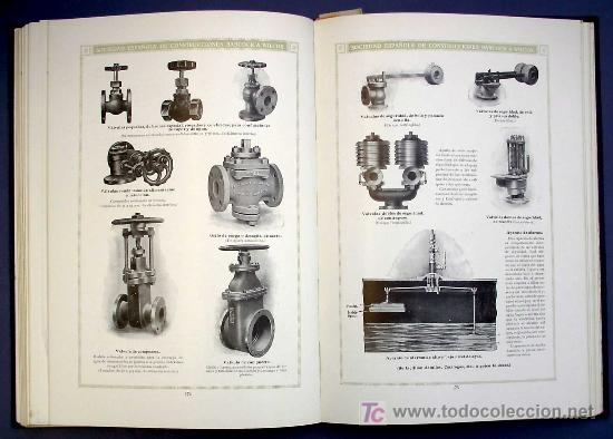 Libros antiguos: SOCIEDAD ESPAÑOLA DE CONSTR. BABCOCK & WILCOX. CATALOGO GENERAL. GALINDO, BILBAO, MADRID, POST 1920. - Foto 10 - 25648052