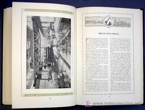 Libros antiguos: SOCIEDAD ESPAÑOLA DE CONSTR. BABCOCK & WILCOX. CATALOGO GENERAL. GALINDO, BILBAO, MADRID, POST 1920. - Foto 11 - 25648052