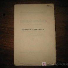 Libros antiguos: GANADERIA ESPAÑOLA . Lote 10902907