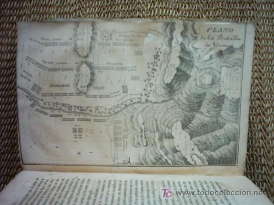 Libros antiguos: HISTORIA DE LA REVOLUCION HISPANO AMERICANA. MARIANO TORRENTE. 1829-1830 1ª EDICION. PLANOS Y MAPAS. - Foto 8 - 27016148