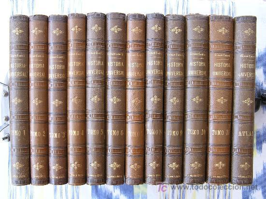 HISTORIA UNIVERSAL (CESAR CANTÚ) (Libros Antiguos, Raros y Curiosos - Historia - Otros)