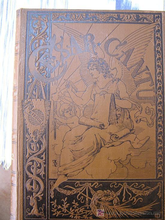 Libros antiguos: HISTORIA UNIVERSAL (CESAR CANTÚ) - Foto 11 - 24734437