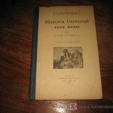 Libros antiguos: COMPENDIO DE HISTORIA UNIVERSAL EDAD MEDIA . Lote 21865711