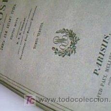 SANCTI AMBROSSI EN LATIN TOMO III AÑO 1836