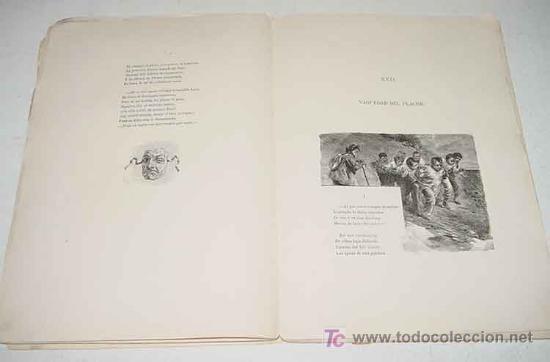 Libros antiguos: Doloras - Edic. ilustrada - Primera Edicion 1878 - Campoamor, Ramón de - Biblioteca Perojo - Cubiert - Foto 3 - 26281334