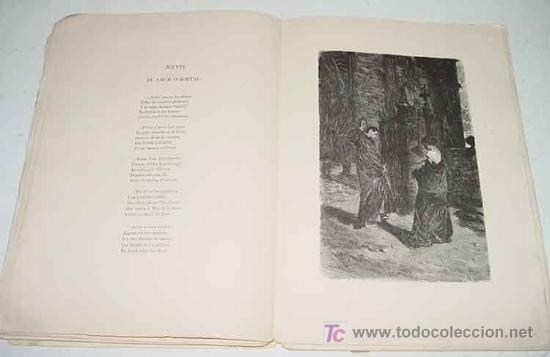 Libros antiguos: Doloras - Edic. ilustrada - Primera Edicion 1878 - Campoamor, Ramón de - Biblioteca Perojo - Cubiert - Foto 5 - 26281334