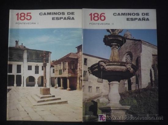 CAMINOS DE ESPAÑA. PONTEVEDRA, I Y II EDITADO POR COMPAÑIA ESPAÑOLA DE PENICILINA. 16 PAG. (Libros Antiguos, Raros y Curiosos - Historia - Otros)