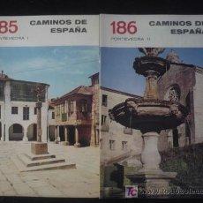 Libros antiguos: CAMINOS DE ESPAÑA. PONTEVEDRA, I Y II EDITADO POR COMPAÑIA ESPAÑOLA DE PENICILINA. 16 PAG. . Lote 7333073
