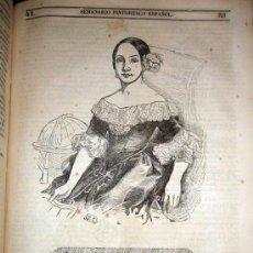 Libros antiguos: ANTIGUO Y PRECIOSO LIBRO SEMANARIO PINTORESCO ESPAÑOL AÑO 1845 COMPLETO -TOMO X DE LA COLECCION - IM. Lote 26455377