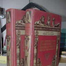Libros antiguos: 1916?.- MASONERIA. LAS SECTAS Y LAS SOCIEDADES SECRETAS A TRAVES DE LA HISTORIA. Lote 27210184