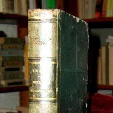 Libros antiguos: HISTOIRE DU CONSULAT.M.A.THIERS.GRABADOS.PARIS 1865.OBRA COMPLETA.. Lote 25893597