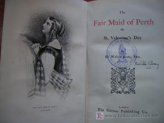 Libros antiguos: the fair maid of perth or st. valentine,s day ppsXX, 395 pgs14x21 - Foto 2 - 26475874