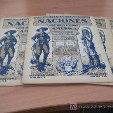 Libros antiguos: LOTE HISTORIA DE LAS NACIONES. Nº 109 A 113. (ESTADOS UNIDOS DE AMERICA). Lote 12947854
