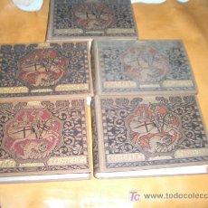 Libros antiguos: CATALUÑA ILUSTRADA COMPLETA 5 TOMOS. Lote 27539611