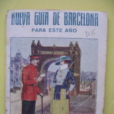 Libri antichi: NUEVA GUIA DE BARCELONA. Lote 7815144