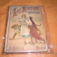 Libros antiguos: LOS MARTIRES POR CHATEAUBRIAND -CALLEJA-. Lote 7832156