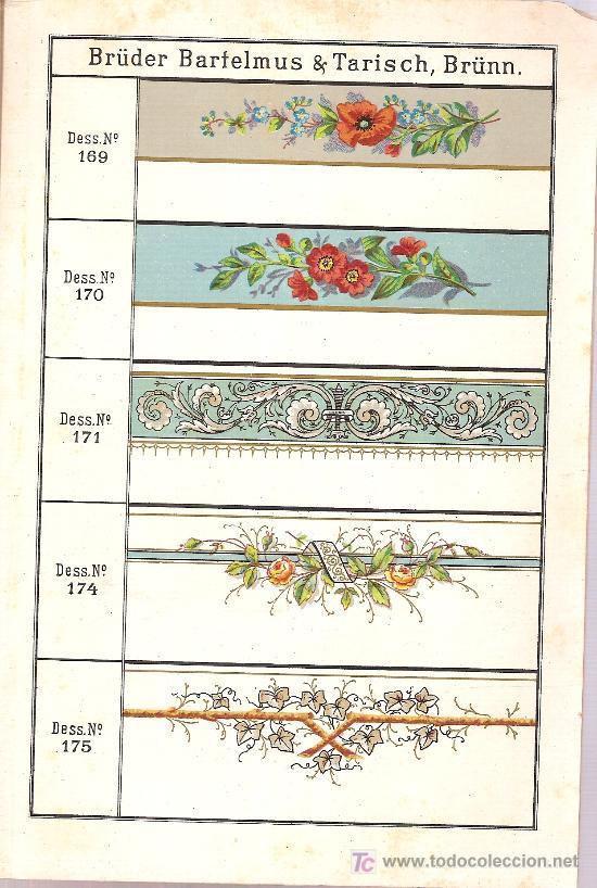 Libros antiguos: Muster-Buch uber decorirte Email-Blech-Geschirre der Emai, Eisen,Blech & Metallwaaren Fabrik. 1888 - Foto 3 - 26672790