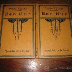 Libros antiguos: BEN HUR 2 TOMOS . Lote 7950856