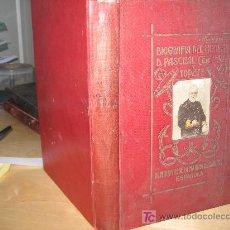 Libros antiguos: 1920.- APUNTES BIOGRAFICOS DEL ALMIRANTE PASCUAL CERVERA. GUERRA DE CUBA. OBRA MONUMENTAL!!!! NAVAL. Lote 192852925