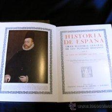 Libros antiguos: HISTORIA DE ESPAÑA ED. GALLACH 1935. Lote 27538004