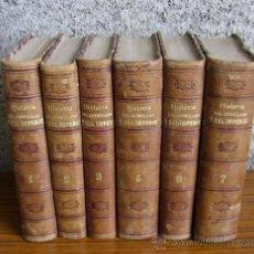 Libros antiguos: 6 TOMOS HISTORIA CONSULADO Y DEL IMPERIO .. CONTINUACIÓN DE LA HISTORIA DE LA REVOLUCIÓN FRANCESA. Lote 57741098