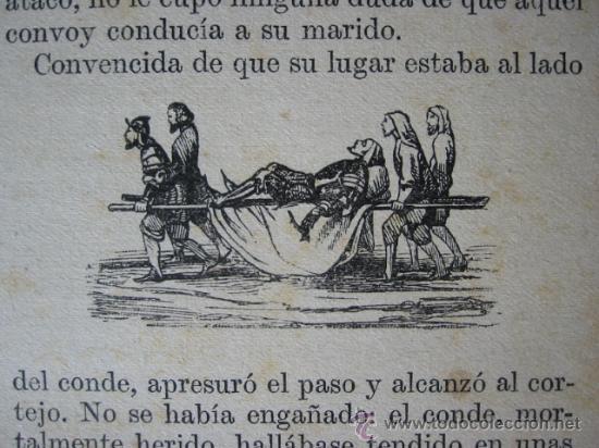 Libros antiguos: EL CONDE DE FLANDES - Crónica Medioeval Alemana. Versión Pons Fábregues, 1913. - Foto 4 - 24423497
