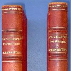Libros antiguos: BIBLI. DE AUTORES ESPAÑOLES. NOVELISTAS POSTERIORES A CERVANTES. 2 VOL M. RIVADENEYRA, 1864/71.. Lote 26646229