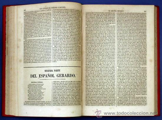 Libros antiguos: BIBLI. DE AUTORES ESPAÑOLES. NOVELISTAS POSTERIORES A CERVANTES. 2 VOL M. RIVADENEYRA, 1864/71. - Foto 5 - 26646229